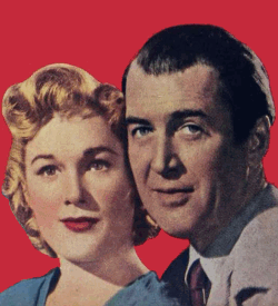James Stewart and Jeab Hagen in a publicity still