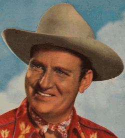 A photograph of Gene Autry
