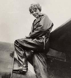 Photograph of Amelia Earhart