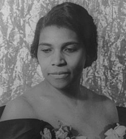 Photograph of Marian Anderson
