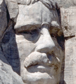 Image of Roosevelt At Mount Rushmore