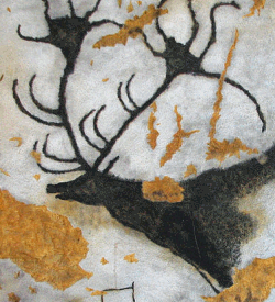 A giant deer from Lascaux