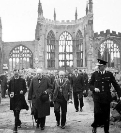 The result of the Coventry Blitz