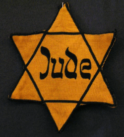 Yellow Jude badge