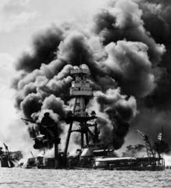 The 1941 attack on Pearl Harbor