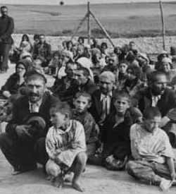 Prisoners in Belzec extermination camp