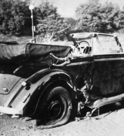 Car in which Heydrich was fatally injured