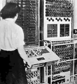 Colossus codebreaking computer