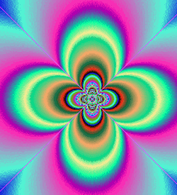 A psychedelic image