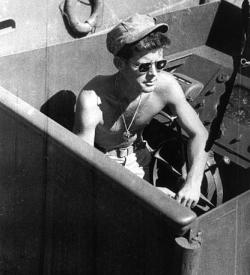 John F. Kennedy aboard PT-109