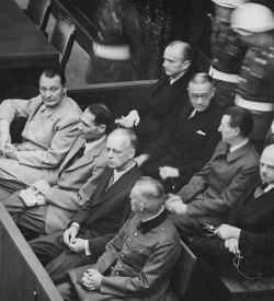 Defendants in the Nuremberg Trials