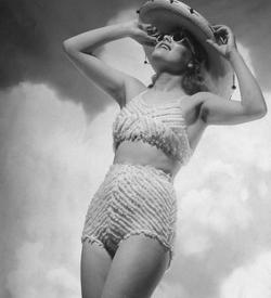 A vintage bikini