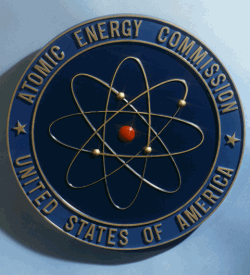 U.S. Atomic Energy Commission logo