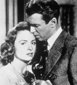 Donna Reed and James Stewart