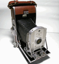 An early polaroid camera
