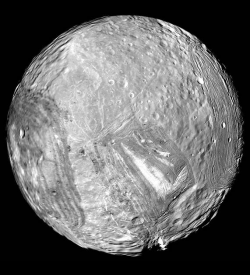 Miranda A Moon Of Uranus