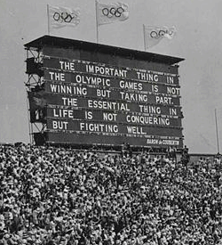 Opening of the XIV Olympic Games in London
