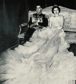 Shah Reza with Shahbanu Soraya