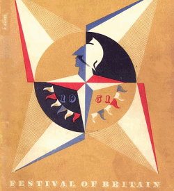 Cover of a Festival of Britain guide