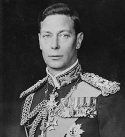Formal portrait of George VI
