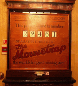 Board for The Mousetrap