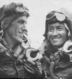 Hillary and Sherpa Tenzing