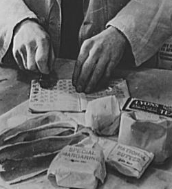 Food Rationing Stamps