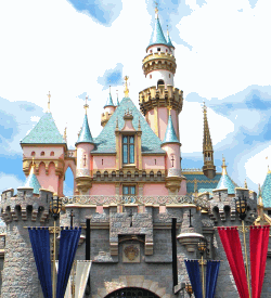 Disneyland Fairy Castle