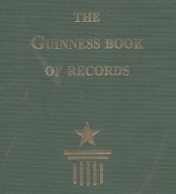 First edition of the Guinness Book of Records