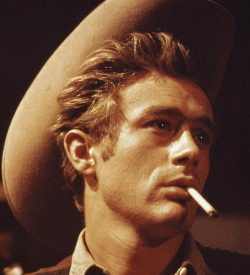 James Dean in Giant