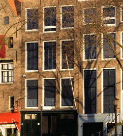 Photograph of Anne Franks' house