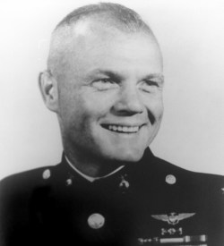 Photograph of John Glenn