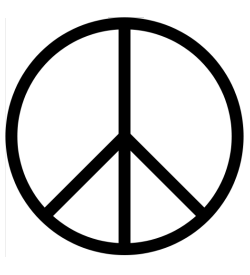 CND and peace symbol