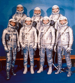 The original Project Mercury astronauts