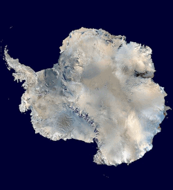 Antarctica from above