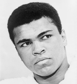 A young Muhammad Ali