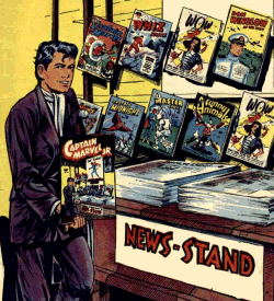 An Old Newsstand