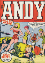 Cover For Andy Comics