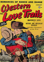 Cover For Western Love Trails