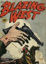 Cover For Blazing West