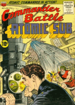 Cover For Commander Battle and the Atomic Sub