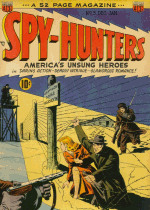 Cover For Spy-Hunters