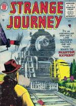 Cover For Strange Journey