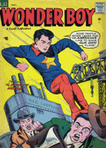 Cover For Wonder Boy