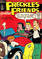 Cover For Freckles And His Friends