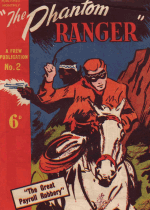 Cover For The Phantom Ranger