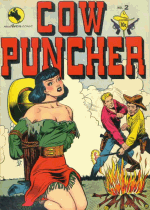 Cover For Cow Puncher Comics