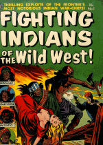 Cover For Fighting Indians of the Wild West!