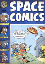 Thumbnail for Space Comics