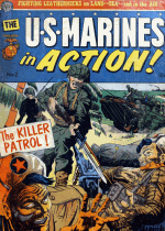 Cover For U.S. Marines in Action
